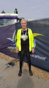 Bob runs the Brighton Marathon